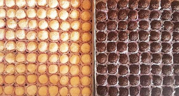 1 cento de Docinhos Tradicionais (até 2 sabores por cupom) na Tchesca Gourmet
