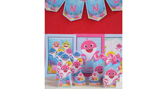 Kit com 10 caixas milk + 10 caixa pirâmide + 10 porta bis + 3 posters + 1 varal