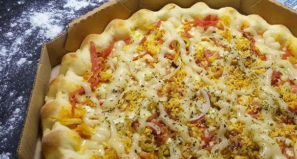 1 Pizza G (8 fatias) Sabores Tradicionais na Papitto's Pizzaria