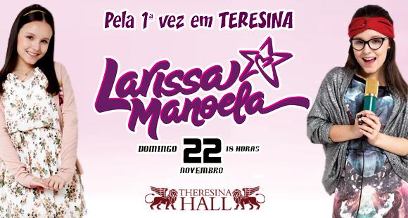 0d579dbd659f0 Ingresso Cadeira Pista para Show de Larissa Manoela no Theresina - Ofertas  em Teresina - Os Mosqueteiros
