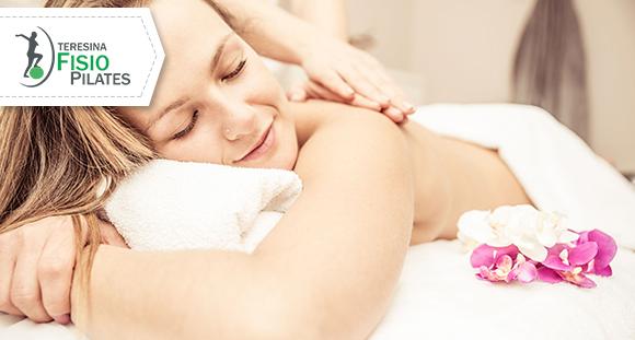 01 Sessão de Massagem Relaxante na Teresina Fisio Pilates