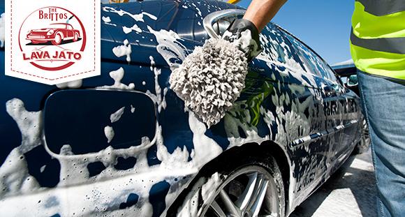 Lavagem Completa com Polimento no The Brittos Lava Jato!