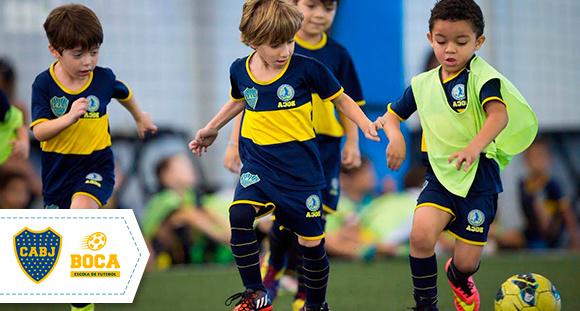 1 mês de treinamento na Escola de Futebol Boca Juniors