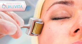 Microagulhamento, Higienização Facial e Aplicação de Estimulantes
