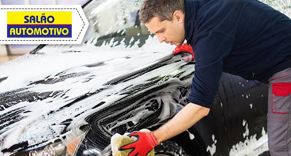 Lavagem Completa com Polimento no Salão Automotivo