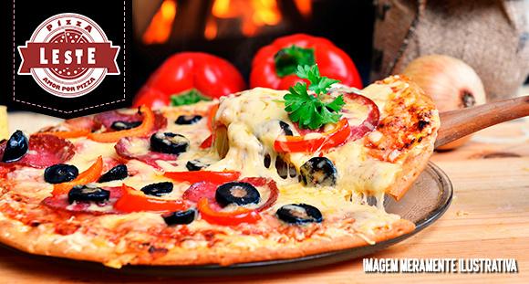 1 Pizza GG, todos os sabores tradicionais (exceto a Moda da Casa) na Pizza Leste