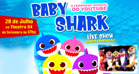 Ingressos Baby Shark - Live Show