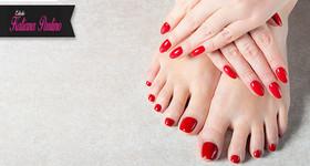 Manicure + Pedicure no Estúdio Katiana Paulino