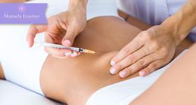 5 Hidrolipoclasia + 5 Lipocavitação + 30 procedimentos para Redução de Gorduras