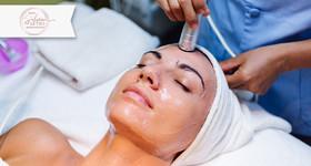 Limpeza de Pele com Extração de Cravos + Peeling de Diamante + Ledterapia