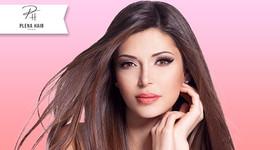 Blindagem dos Fios + Tratamento de Nutrição na Plena Hair Studio de Beleza