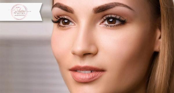 Design de sobrancelhas + Henna (opcional) + Buço no Studio Silvia Letici