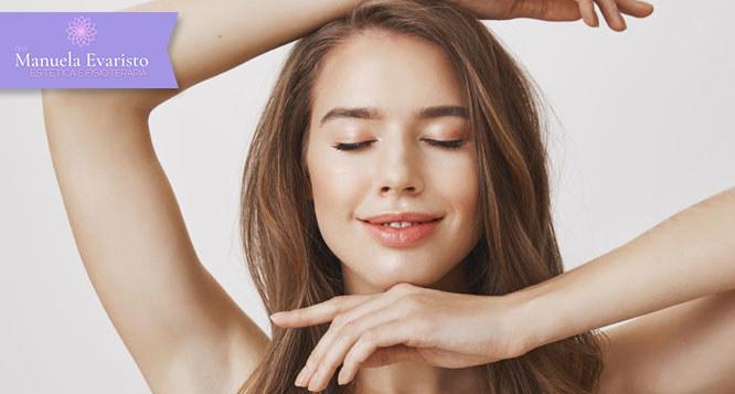 Limpeza de pele profunda com extração de cravos e milium + Alta hidratação + FPS