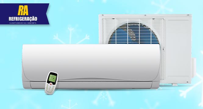 Limpeza Preventiva de Split (7.000 a 22.000 btus) na RA Refrigeração