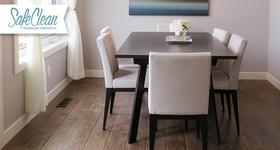 Lavagem em domicílio de 6 cadeiras (encosto e assento) com a Safe Clean