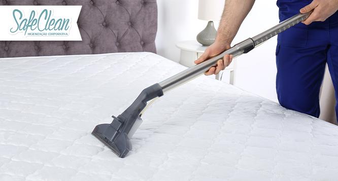 Higienização de Colchão ou Cama Box (Solteiro ou Casal) na Safe Clean