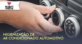 Higienização do Ar Condicionado automotivo na Navi Pneus
