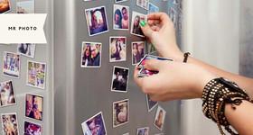 24 ímãs personalizados com foto (5×5cm) + caixinha presenteável na MrPhoto