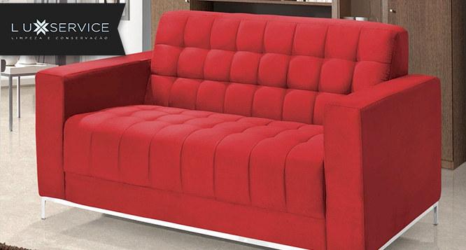 Lavagem a Seco de Sofá (1,2 ou 3 lugares) ou até 6 Cadeiras na Lux Service