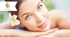 Limpeza facial com Peeling e Revitalização + Massagem com Bambuterapia e óleos