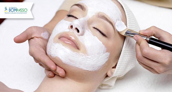 Limpeza de Pele com Extração + Argiloterapia, Colágeno e Drenagem Facial
