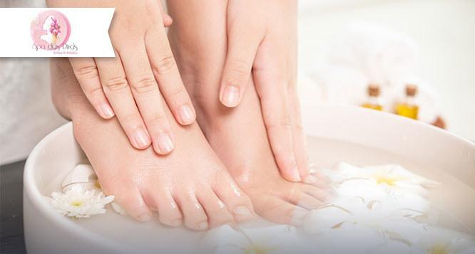 Spa dos Pés: Manicure, Pedicure, Reflexologia, Esfoliação, Hidratação e mais