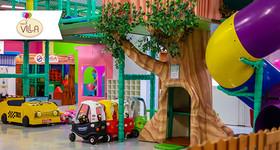 1 hora na brinquedoteca do Parque da Villa - Shopping Rio Poty