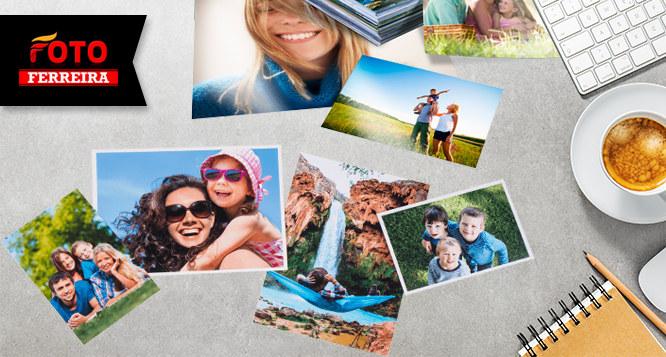Revelação de 30 fotos (10x15cm) na Foto Ferreira