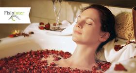 1 sessão de Hidromassagem +  Aromaterapia + Sais de banho + Bebida relaxante