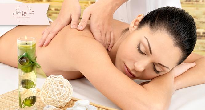 1 sessão de Ventosaterapia e Massagem relaxante na Clínica Renata Freitas
