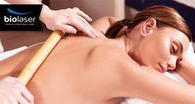 Massagem Anti Stress com Bambuterapia na Biolaser