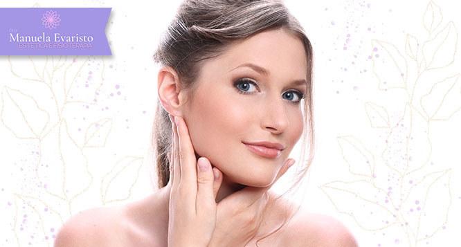 Limpeza de pele com Peeling de Diamante e alta hidratação