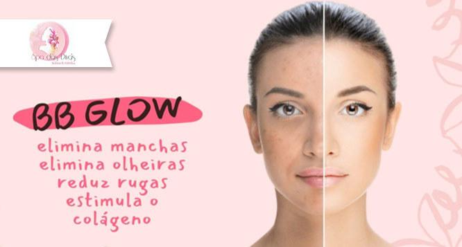 Higienização facial + 1 sessão de BB Glow + Máscara de LED no Spa das Divas